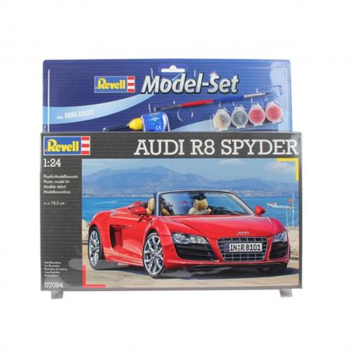 Audi R8 Spyder - 1:24 - Model-set - Revell
