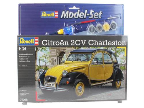 Citroen 2CV Charleston - 1:24 - Model-set - Revell