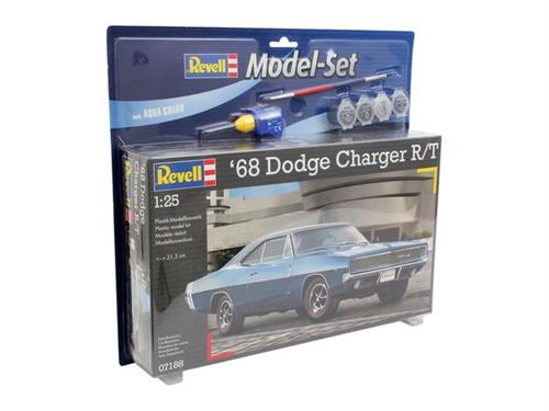 '68 Dodge Charger R/T - 1:25 - Model-set - Revell