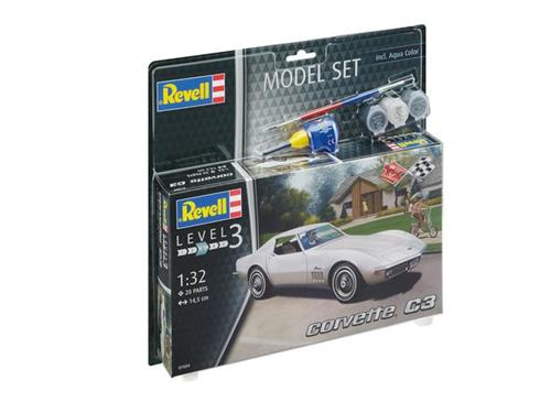 Corvette C3 - 1:32 - Model-set - Revell