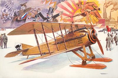 SPAD VIIc.1 with Russian skies - 1:32 - Roden