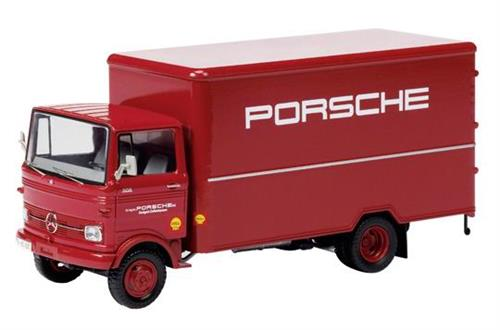 "Mercedes-Benz LP 608 ""Porsche Werksteam"" - Lim. 1000 - 1:43 - Schuco"