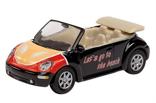 "VW New Beetle Cabrio ""Let's go"" - H0 - Schuco"