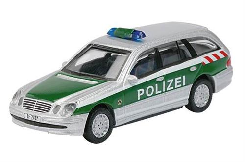 "Mercedes-Benz E-klasse T-model ""Polizei"" - H0 - Schuco"