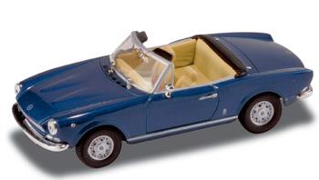 Fiat 124 Spider - 1969, Blue - 1:43 - Starline