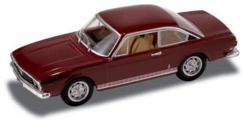 Lancia 2000 Coupé HF - 1971, Red Amaranto - 1:43 - Starline