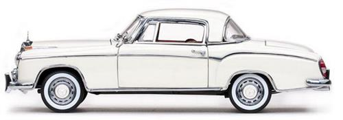1958 Mercedes Benz 220 SE Coupe, ivory - 1:18 - Sun Star