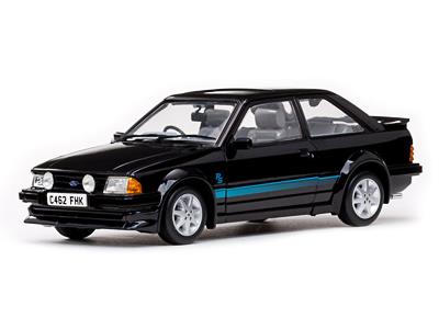 "Ford Escort RS Turbo, sort ""Princess Diana car"" (GB - h�jrestyret) - 1:18 - Sun Star"
