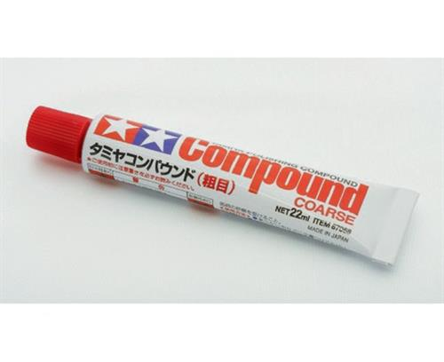 Polishing Compound Coarse (grov) - 22ml - Tamiya