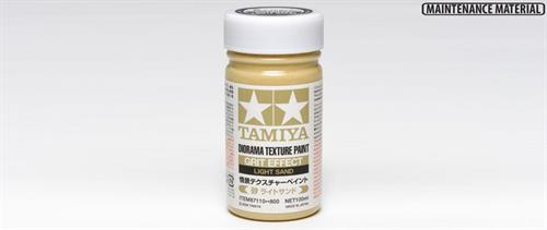 Diorama Texture Paint 100ml - Grit Effect: Light Sand - Tamiya