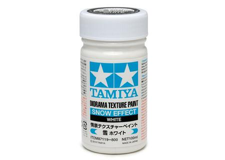 Diorama Texture Paint 100ml - Snow Effect - Tamiya