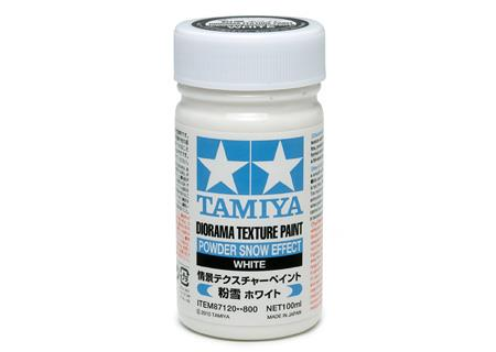 Diorama Texture Paint 100ml - Powder Snow Effect - Tamiya
