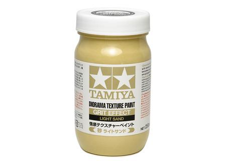 Diorama Texture Paint 250ml - Grit Effect: Light Sand - Tamiya