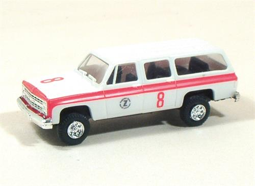 Airport Ambulance 8 (Chevrolet) - H0 - Trident