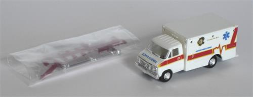 Chicago Ambulance (Chevrolet) (m/logo) - H0 - Trident