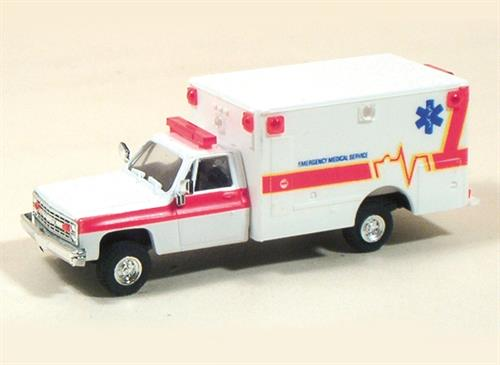CFD Ambulance (Chevrolet) - H0 - Trident