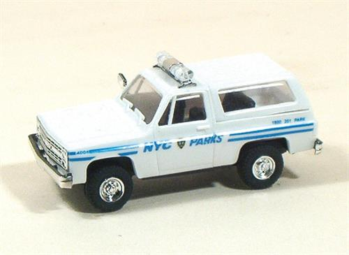 NYC Park Police (Chevrolet) - H0 - Trident