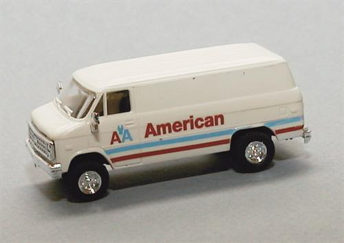"""American Air Lines"" (Chevrolet) - H0 - Trident"