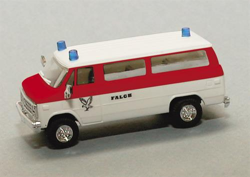 "Ambulance ""Falck"" (Chevrolet) - H0 - Trident"