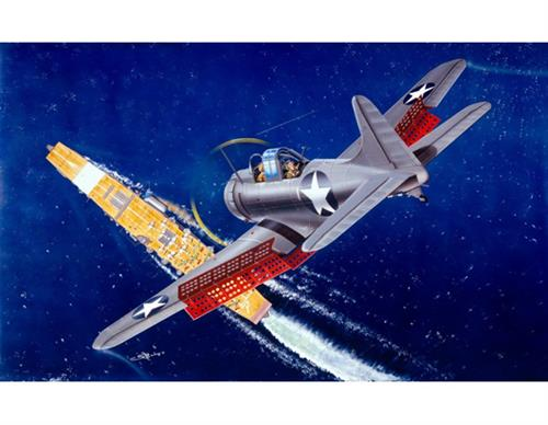 SBD-1/2 Dauntless US Navy - 1:32 - Trumpeter