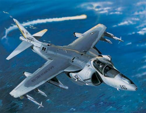 AV-8B Night Attack Harrier II - 1:32 - Trumpeter
