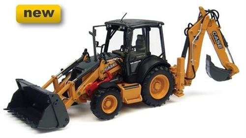 Case 580 ST (2013) Backhoe Loader - 1:50 - Universal Hobbies