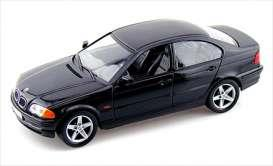 BMW 328i (1998), black - 1:18 - Welly