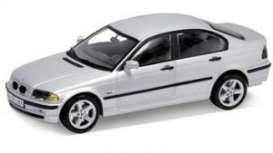 BMW 328i (1998), silver - 1:18 - Welly