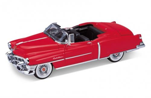 1953 Cadillac Eldorado Convertible, red - 1:24 - Welly