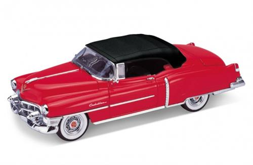 1953 Cadillac Eldorado Convertible soft top, red - 1:24 - Welly