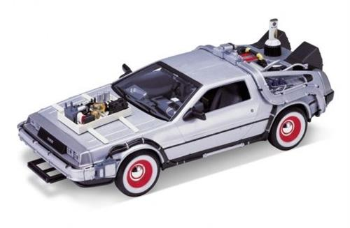 "1987 DeLorean ""Back to the Future III"" - 1:24 - Welly"