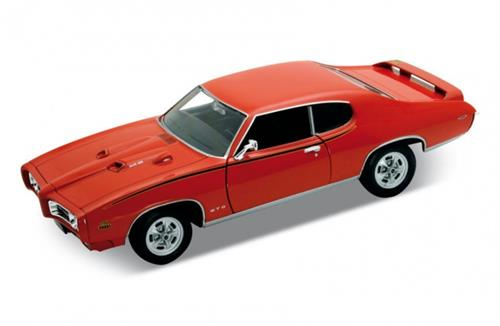 1969 Pontiac GTO, orange - 1:24 - Welly