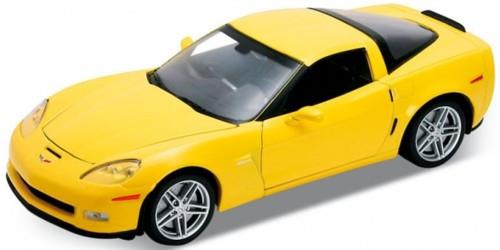 2007 Chevrolet Corvette, yellow - 1:24 - Welly