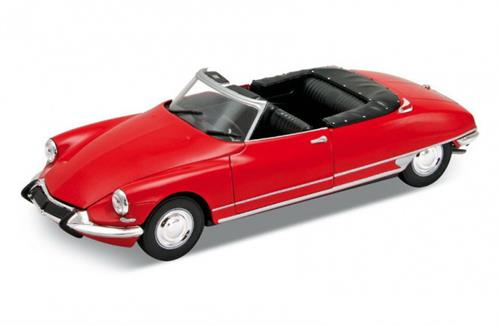 Citroen DS 19 Cabriolet, red - 1:24 - Welly