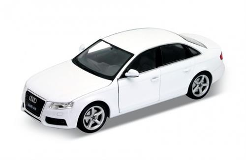 2008 Audi A4, white - 1:24 - Welly