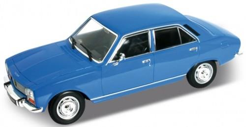 1974 Peugeot 504, baby blue - 1:24 - Welly