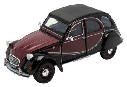 1982 Citroen Charleston 2CV, red/black - 1:24 - Welly