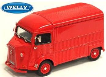 1962 Citroen HY, red - 1:24 - Welly