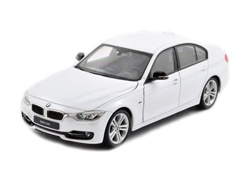 BMW 335i, white - 1:24 - Welly