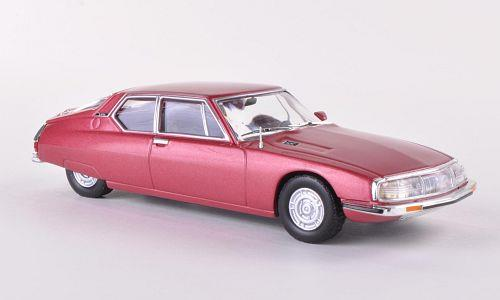 Citroen SM (1970), light metal red - 1:43 - WhiteBox