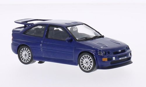 Ford Escort RS Cosworth (1992) - metallic blue - 1:43 - WhiteBox