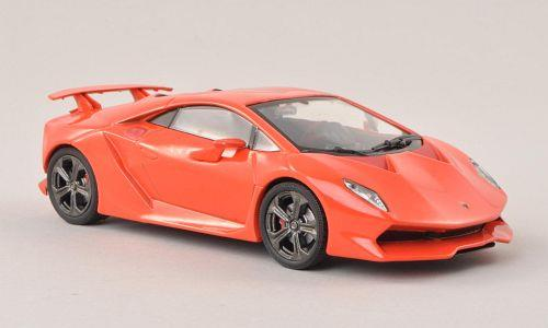 Lamborghini Sesto Elemento (2010), red-orange - 1:43 - WhiteBox