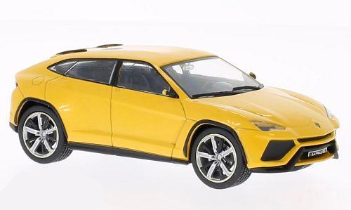 Lamborghini Urus (2012), met.-yellow - 1:43 - WhiteBox