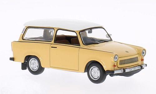 Trabant 601 Universal (1965), beige/white - 1:43 - WhiteBox