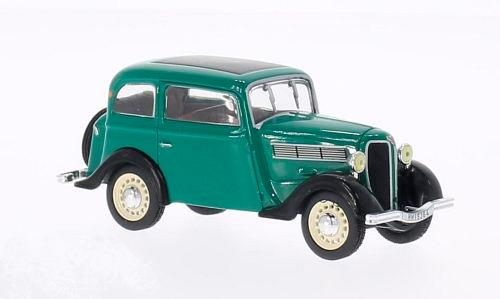 Rosengart super 5 LR4N (1938), green/black - 1:43 - WhiteBox
