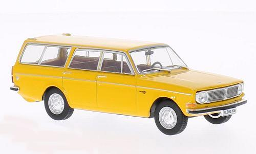 Volvo 145 (1973), dark-yellow - 1:43 - WhiteBox