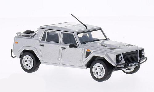 Lamborghini LM 002 (1986), silver - 1:43 - WhiteBox