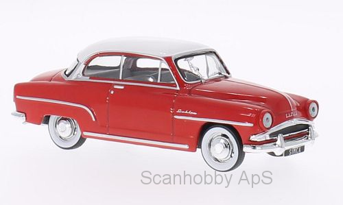 Simca Aronde Grand Large (1953), red/white - 1:43 - WhiteBox