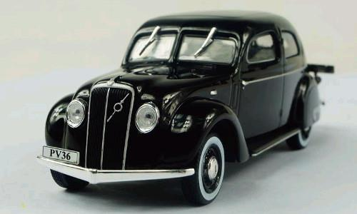 Volvo PV36 Carioca (1935) - black - 1:43 - WhiteBox
