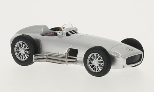Mercedes W 196 (1954) - silver - 1:43 - WhiteBox